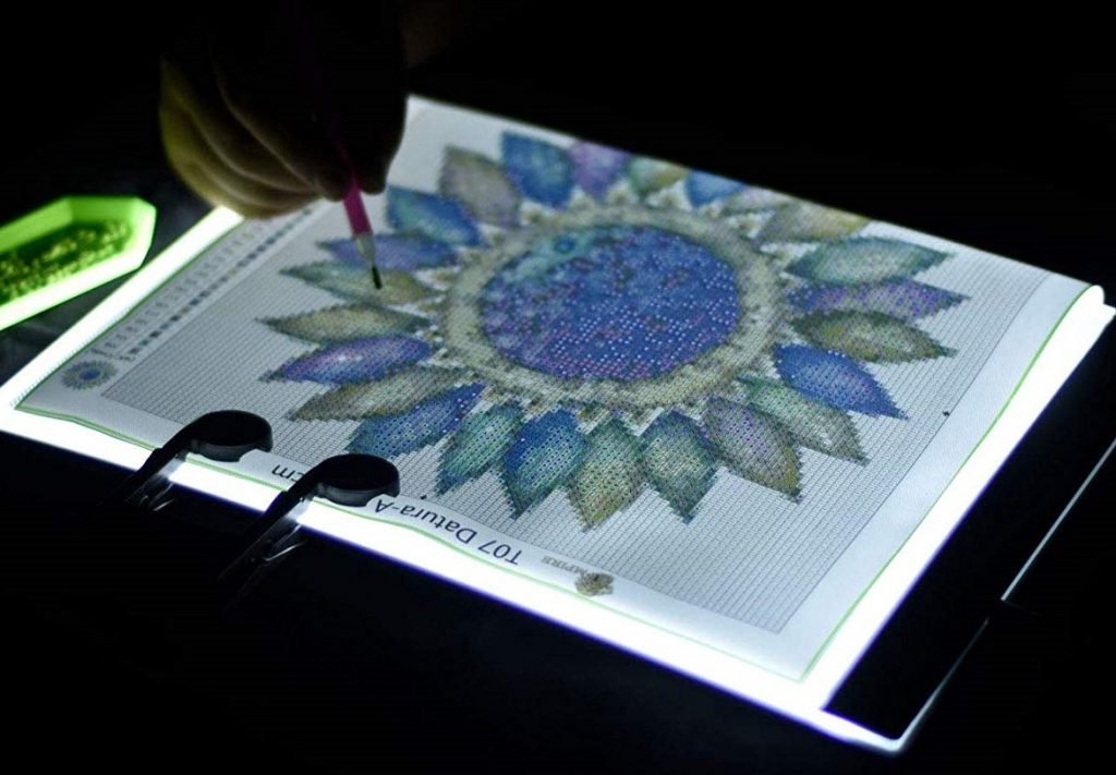 5D artist Lamp pad