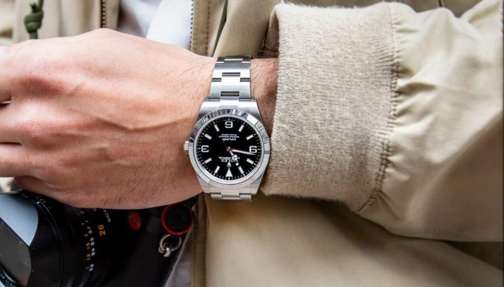 imitation Rolex Explorer 214270 watch